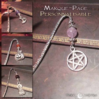 "[A personnaliser] Marque-Page ""Storia"""