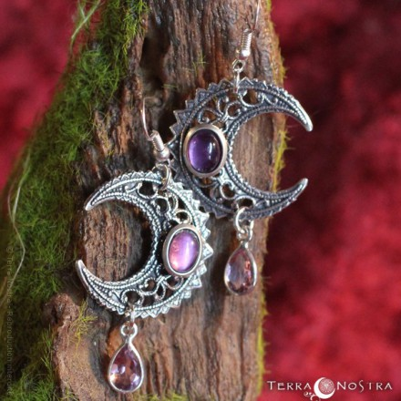 """Priestess of the Moon"" Earrings"
