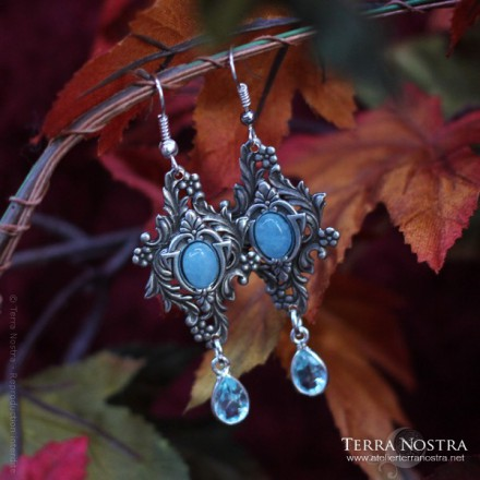 "Boucles d'Oreilles ""The Garden of Whispers"""