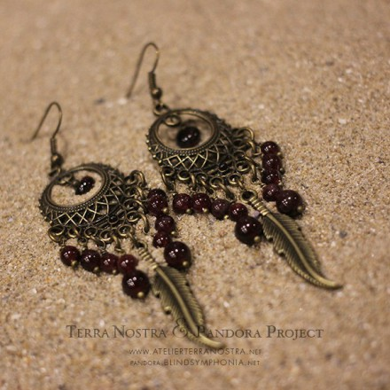 """Khalea"" earrings"