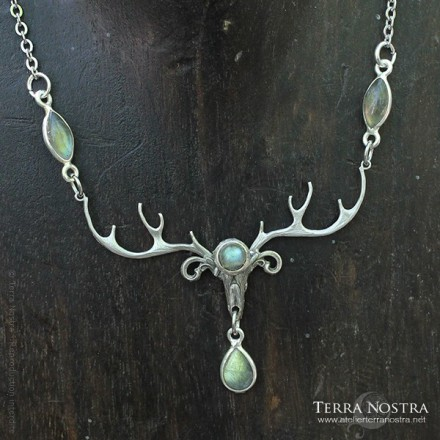 """""""The Forest Watcher"""" necklace"""