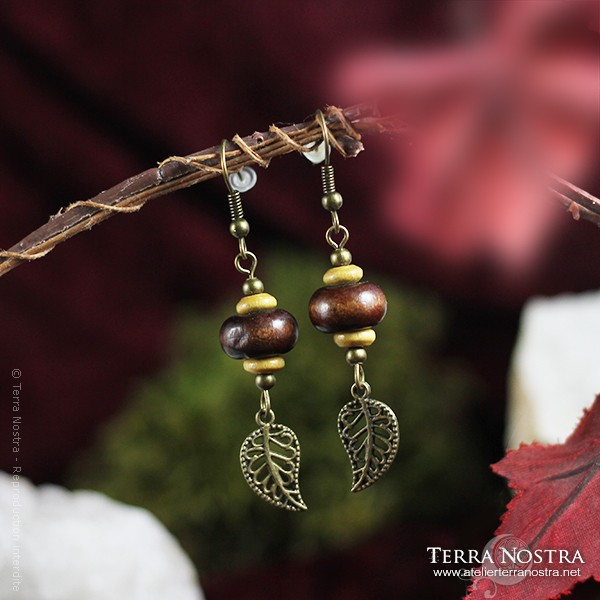 """Autumnia's Fall"" earrings"